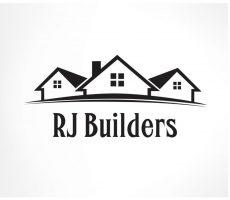 RJ Builders Logo black copy